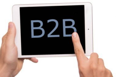 B2B-Onlineshop Tablet iPad